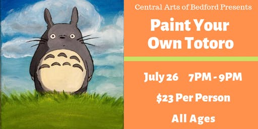 Paint Your Own Totoro