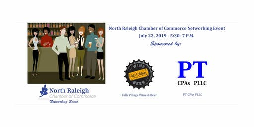 North Raleigh Chamber After Hours at Falls Village Wine & Beer