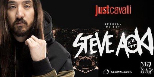 STEVE AOKI @ JUST CAVALLI - ✆+39 3491397993 -