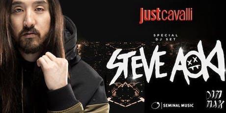 STEVE AOKI @ JUST CAVALLI - ✆+39 3491397993 - biglietti