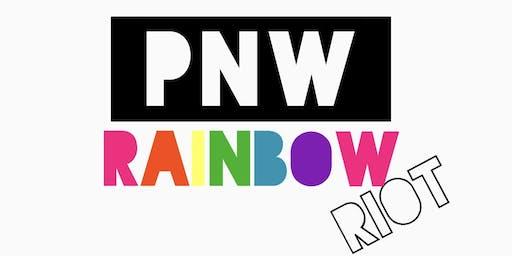 PNW RAINBOW RIOT- Portland