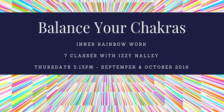Chakra Series - Inner Rainbow Work tickets