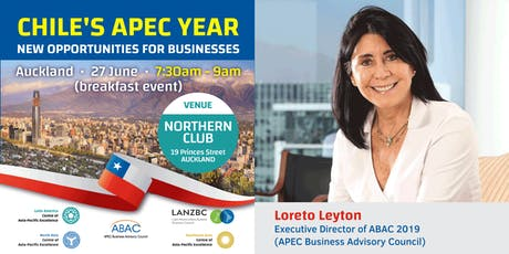 Chile's APEC Year: New Opportunities for Businesses tickets