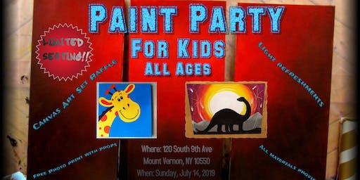 Charming Creators Paint Party