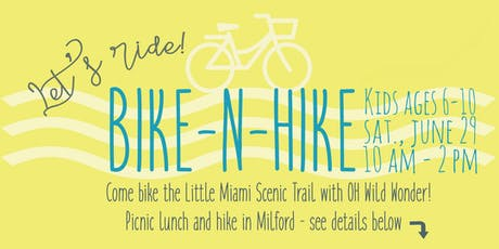 Wild Wonder Bike-n-Hike tickets