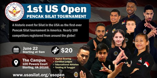 US Open Pencak Silat Tournament
