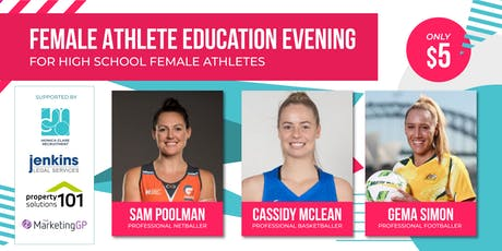 FEMALE ATHLETE EDUCATION EVENING tickets