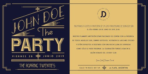 John Doe The Party - Roaring Tweenties - Aniversario