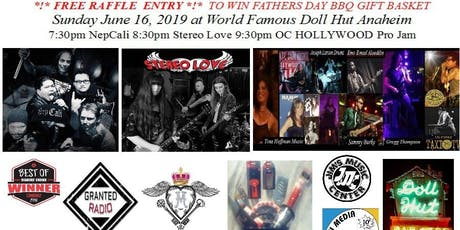 ♫ Doll Hut FATHERS DAY Bands & Jam LA LB LV & NP in OC STEREO LOVE + NepCali tickets