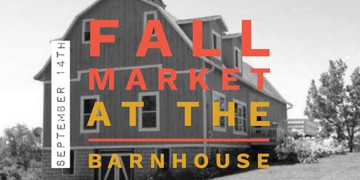 VIP SHOPPING- Sept. 13th- Fall Market at the BarnHouse