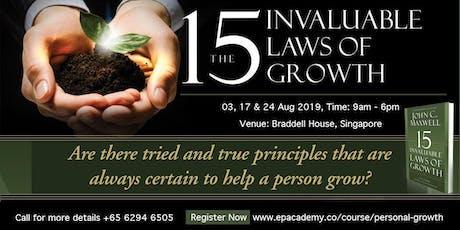 Personal Growth 3-Days Workshop tickets