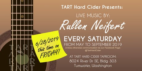 TART Hard FRIDAY with Rullen Neifert - LIVE tickets