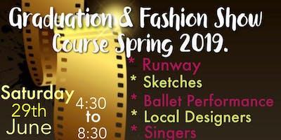 Graduation & Fashion Show Course Spring 2019 FAME Academy