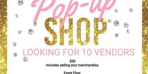 Pop Up Shop Vendors Small Businesses