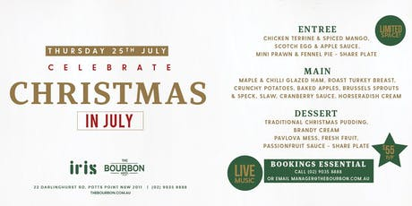 Christmas in July at the Bourbon Hotel tickets