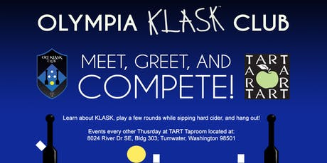 Olympia Klask Club - Meet, Greet and Compete! -- at TART Taproom tickets