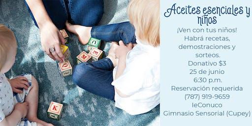 Aceites esenciales y niños: Descubre todo lo que puedes hacer con tus niños