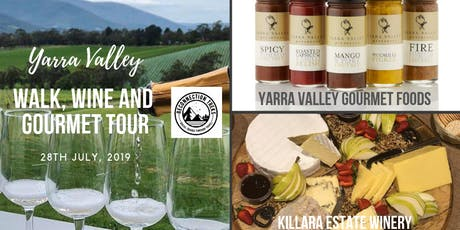 Walk for Wellness - Wine, Gourmet food and Yarra Rail Trail tickets