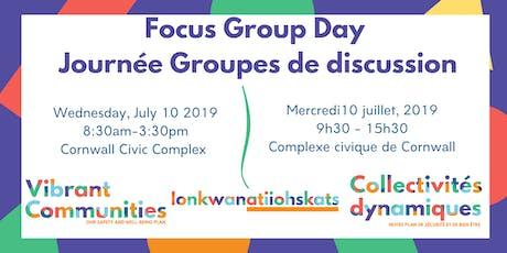 Vibrant Communities - Focus Group Day - Collectivités dynamiques tickets