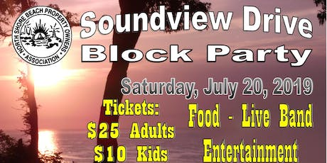 Soundview Drive Block Party tickets