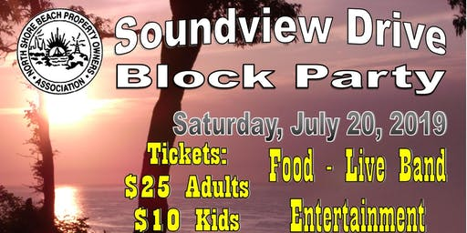 Soundview Drive Block Party
