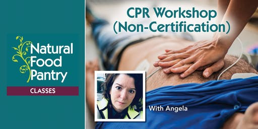 NFP Class: CPR Workshop (Non-Certification)