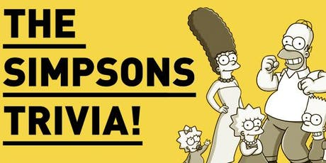The Simpsons Mega Mash up - Comedy Trivia tickets