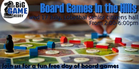 Board Games in the Hills tickets