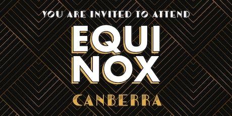 EQUINOX CANBERRA 2019 tickets