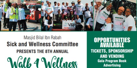 8th Annual Walk 4 Wellness  tickets