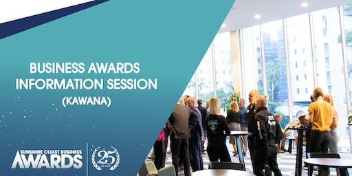 Business Awards Information Session [Kawana]