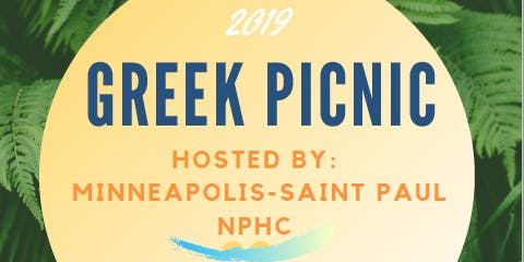 2019 Minneapolis/Saint Paul NPHC Greek Picnic