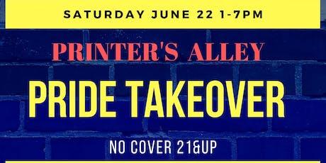 Printer's Alley Pride Takeover  tickets