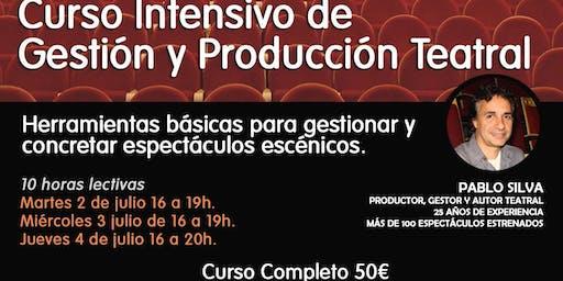 Curso Intensivo de Gestión y Producción teatral