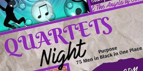 Quartets Night tickets