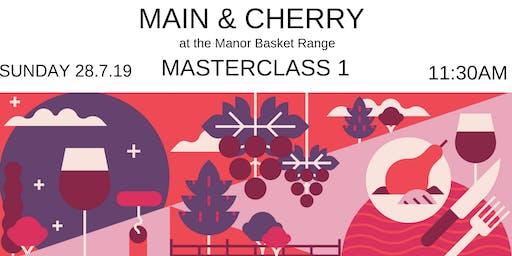 Winter Reds: Main & Cherry at the Manor Masterclass 1