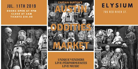 Austin Oddities Market tickets