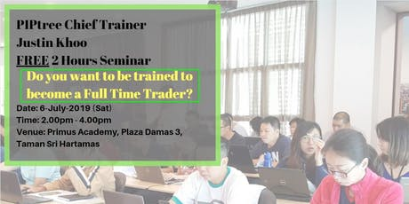 Trading for a living, becoming a full time trader (Hartamas) tickets