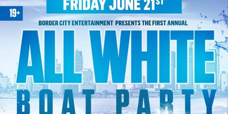 All White Boat Party  2019 tickets