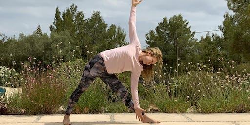 Celebrating International Day of Yoga with Bianca