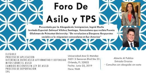 Foro De Asilo y TPS