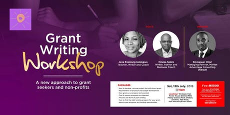 PORT HARCOURT - GRANT WRITING WORKSHOP FOR NGOs tickets