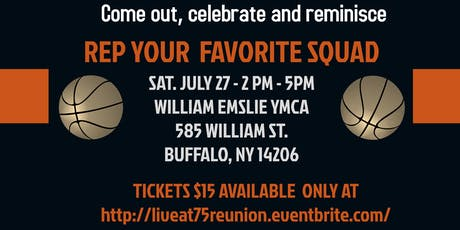 Live at 75 Reunion 2019 tickets