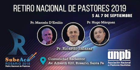 Retiro Nacional de Pastores  Bautistas  2019 entradas