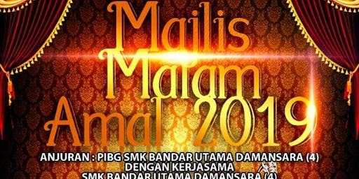 SMK Bandar Utama Damansara (4) Majlis Malam Amal 2019