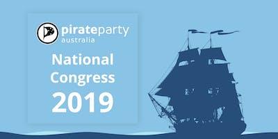 Pirate Party Australia National Congress 2019