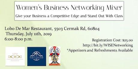 Women's Business Networking Mixer tickets