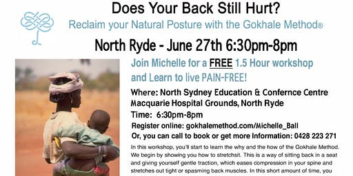 Free Workshop! How Can Healthy Posture Help You Get Rid of Your Aches and Pains?