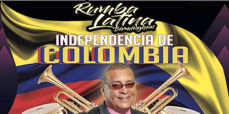 Independencia de Colombia 2019 tickets