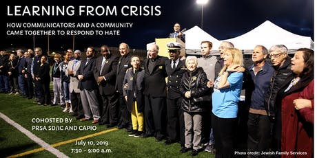 Learning from Crisis: How Communicators and a Community Came Together to Respond to Hate tickets